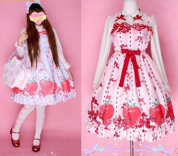 Strawberry Fields Princess Dress