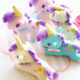 Sanrio Little Twin Stars Magical Unicorn Plush Soft Stuffed Animal Toys Plushies Fairy Kei Kawaii Babe