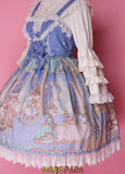Lolita Dress Royal Cats Classic EGL Community Ruffled Delicate Dainty Kawaii Kittens Rouched Sweet