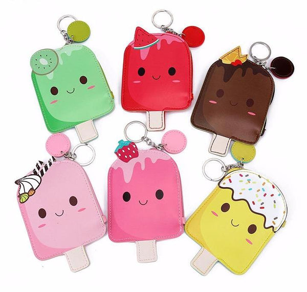 Kawaii Popsicle Coin Bag