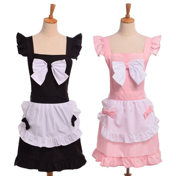 Traditional Maid Apron Dress