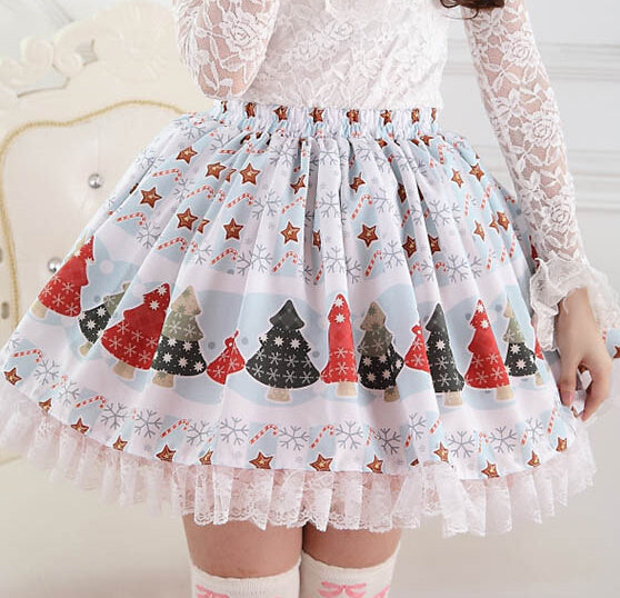 Christmas Winter Wonderland Skirt