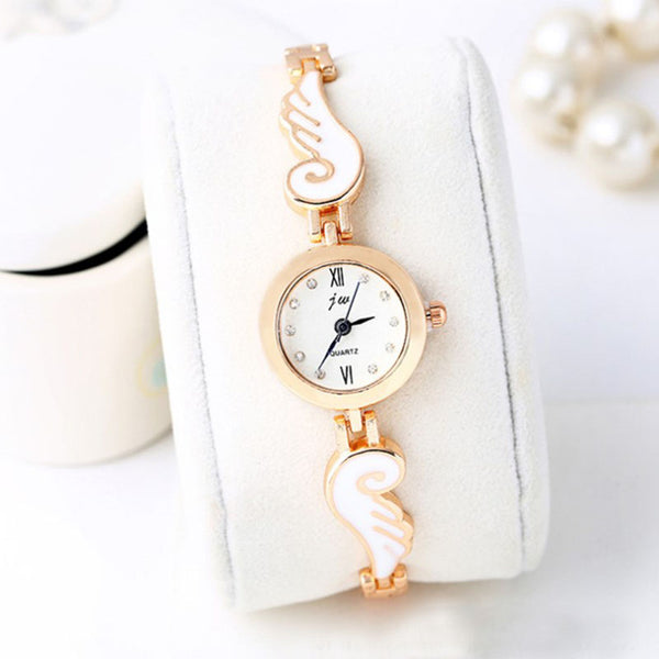 Gold Angel Wing Watch