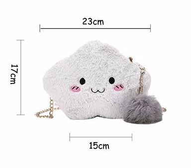 Kawaii Fluffy Cloud Handbag Purse Cross Body Bag Harajuku Fashion  by Kawaii Babe