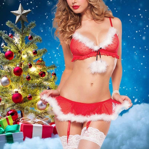 Sexy Mrs. Clause Outfit