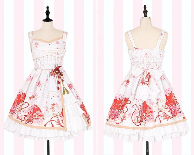 Sakura Flower Dress