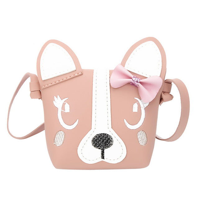 tan 3D vegan leather puppy dog handbag purse messenger bag shoulder bag satchel kawaii harajuku japan fashion by kawaii babe