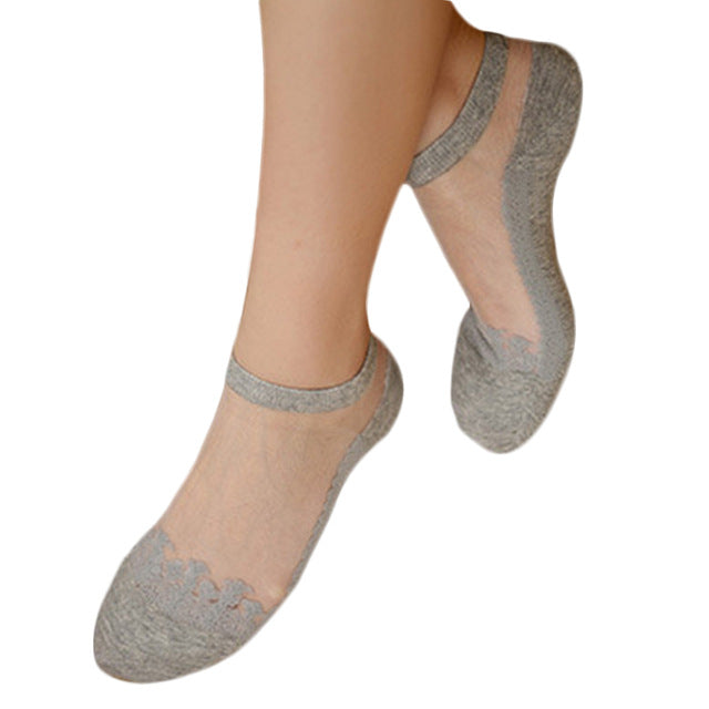 Invisible Lace Socks