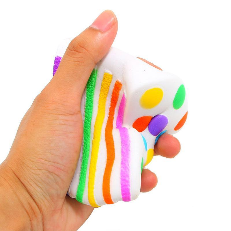 Rainbow Cake Squishy