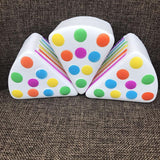 kawaii rainbow birthday cake squeeze toy squishy soft plush kidcore confetti autistic austism stimming tool cgl age regression little space by ddlg playground