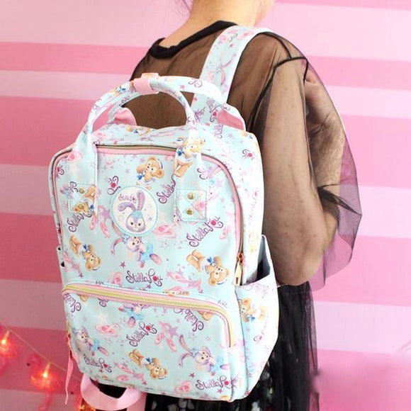 stellalou disney japan backpack book bag school satchel fairy kei pastel kawaii handbag by kawaii babe