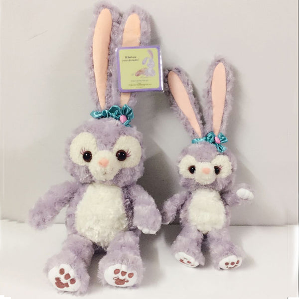 disney stellalou bunny rabbit plush stuffed animal soft toy japanese disneyland japan duffy bear teddy cute kawaii harajuku japan fashion by kawaii babe