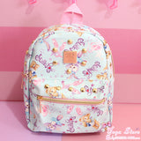 Pastel Bunny & Bear Backpack