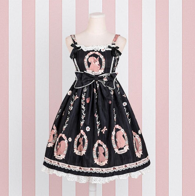 Squirrel Cameo Dress