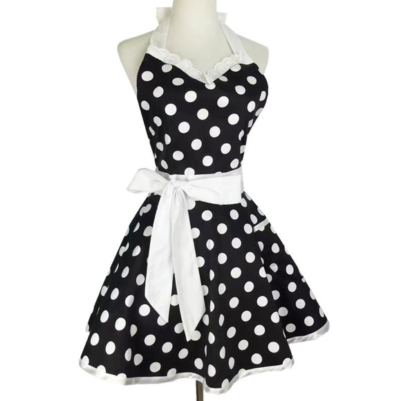 Mod Pinup Apron Dress