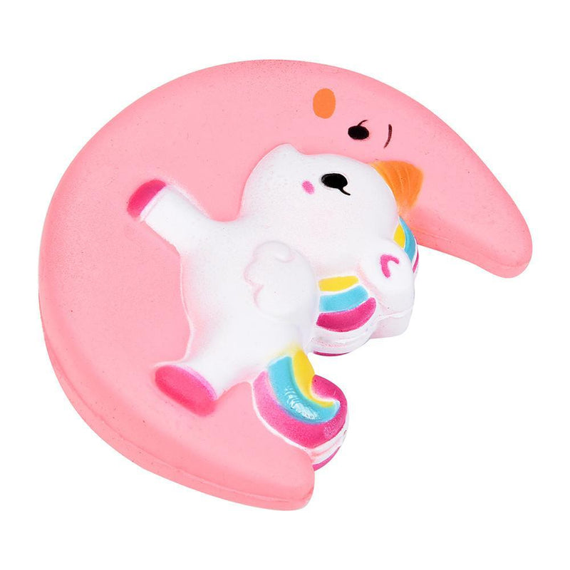 pink rainbow unicorn moon squishy squeeze toy stress relief relieving autism stimming stim age play abdl littlespace cgl dd/lg md/lb ddlb by ddlg playground