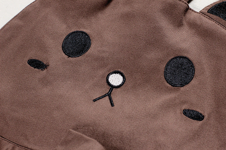 0ad430f1e82 ... Brown bear kitty cat jumper dress pleated skirt dunagrees little space  ddlg abdl cgl cglre age ...
