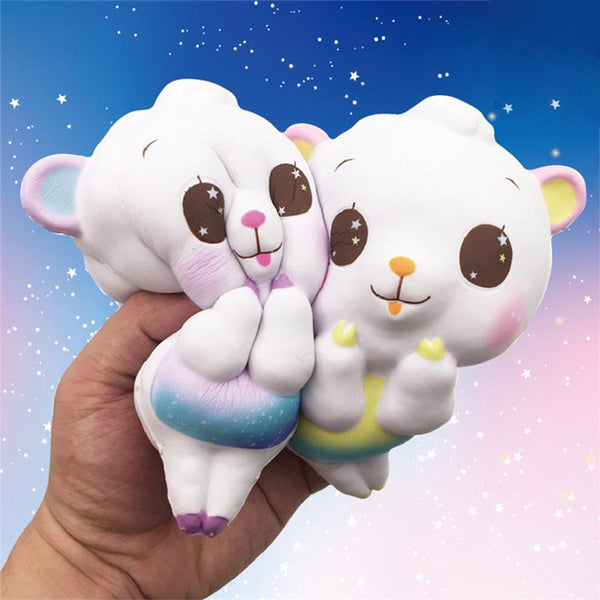Fairy kei pastel baby teddy bear squeeze toy stress ball stress relief autism stim stimming kawaii autistic toys by kawaii babe