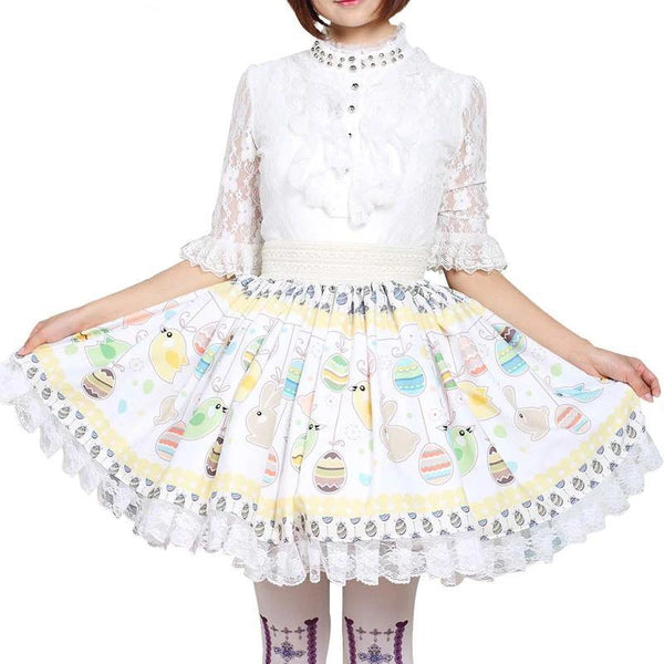 Easter Bunny Lolita Skirt