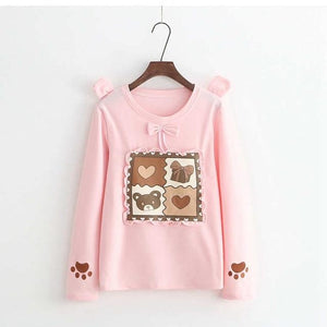 Vintage Teddy Sweater