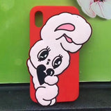 wego bunny rabbit 3d rubber iphone case phone cases harajuku japan kawaiiness by kawaii babe