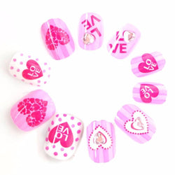Sweet Heart False Nails
