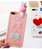 3d rubber sanrio iphone cases pink my melody silicone bendy shock proof harajuku japan fashion by kawaii babe