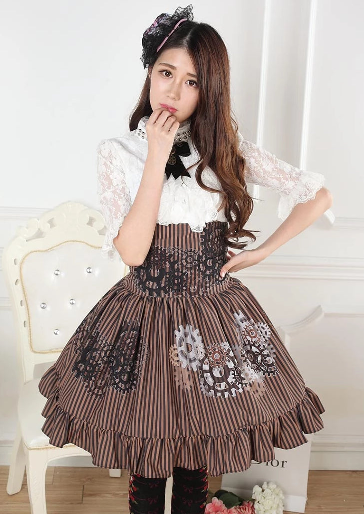 Steampunk Gear Skirt