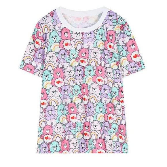 f62acda0 Care Bear Tee. Care Bear Tee. Sale price $29.99 $29.99 Regular price $34.99  $34.99. Alien Pikachu Pokemon T-Shirt Oversized Tee Tie-Dye Pastel Goth  Pokeball ...