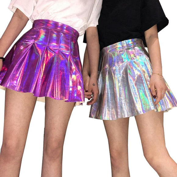 Holographic Princess Skirt