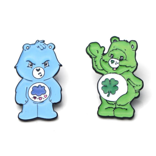Care Bear Enamel Pins Lapel Brooch ABDL CGL Age Play Regression by DDLG Playground