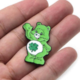 Care Bear Lucky Bear Green Enamel Pin Lapel Brooch ABDL CGL Age Play Regression by DDLG Playground