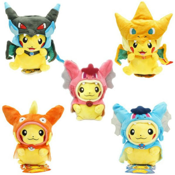 Dress Up Pikachu Plush
