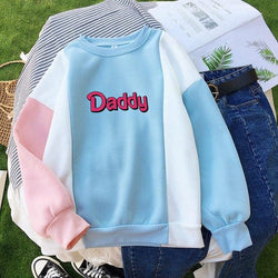 Daddy Kink Pastel Crewneck Sweater Sweatshirt DD/LG CGL Fetish by DDLG Playground