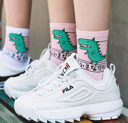 Japanese Dino Socks