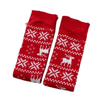 Merry Christmas Leg Warmers