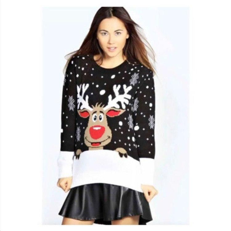 Reindeer Knit Sweater