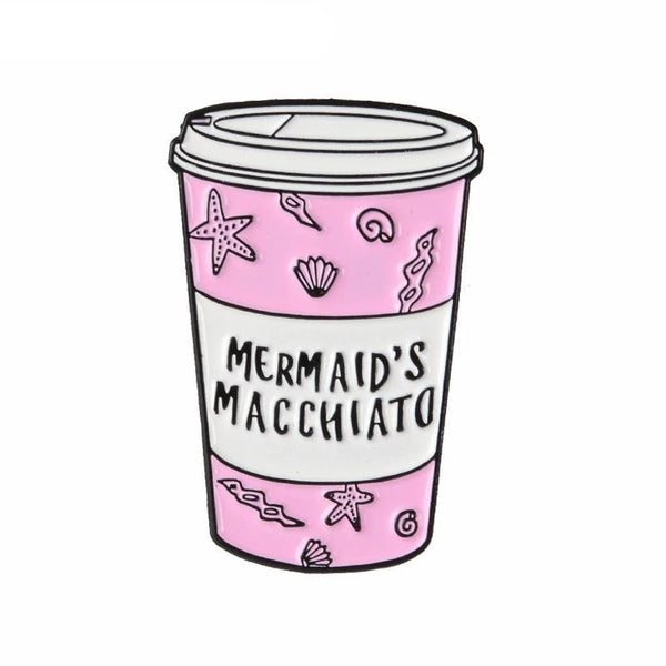 Mermaid Macchiato Pin