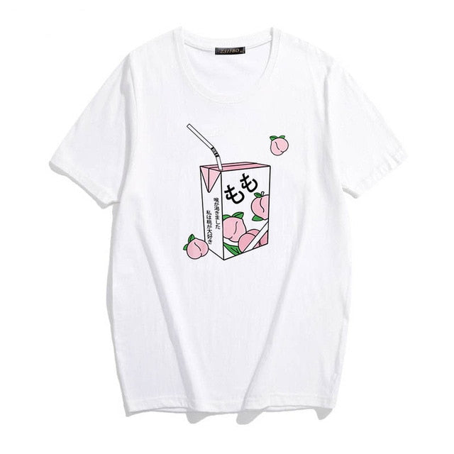 Peachy Milk Box Tee