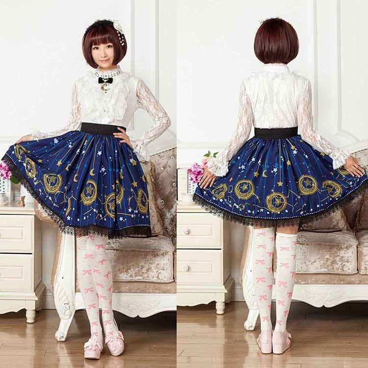 Midnight Astrology Skirt