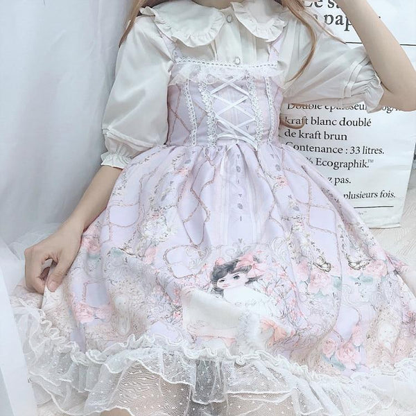Porcelain Doll Lolita Dress