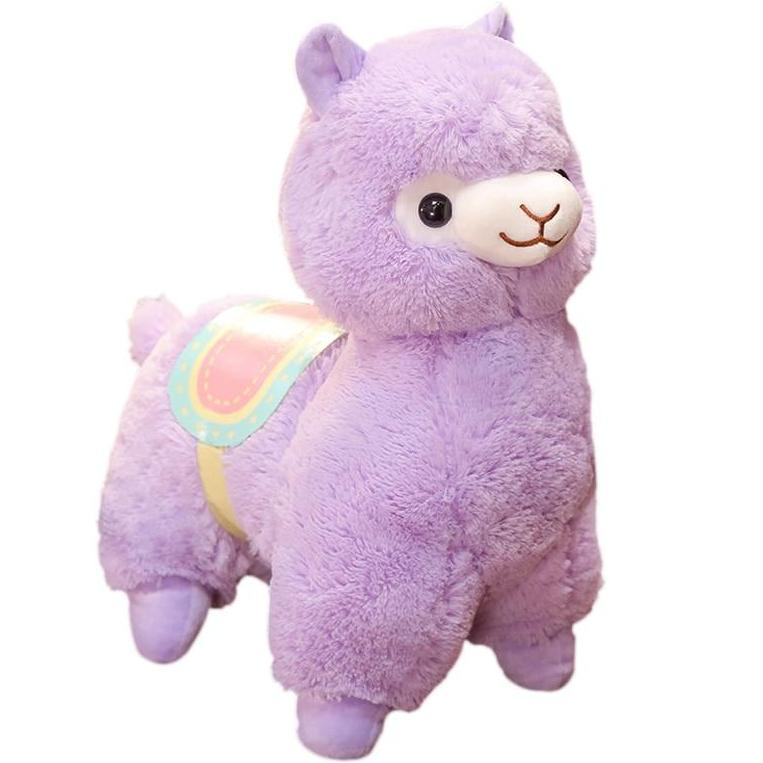 Alpaca & Saddle Plush