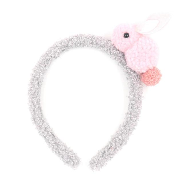 Soft Fuzzy Plush Bunny Rabbit Headband Hair Accessory
