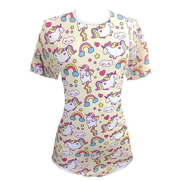 rainbow jumping magical unicorn adult onesies adult baby diaper lover abdl ddlg jumpsuit romper bodysuit one piece snap crotch kink fetish cgl ageplay regression dd/lg community by ddlg playground