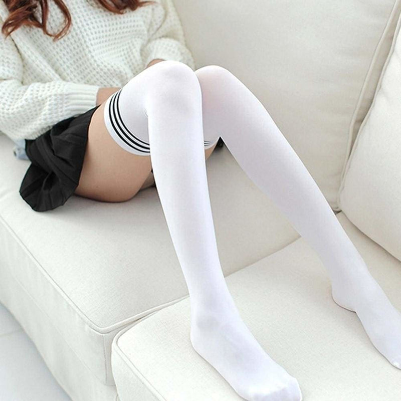 School Girl Stockings - Package of Both Colors (2) - Socks