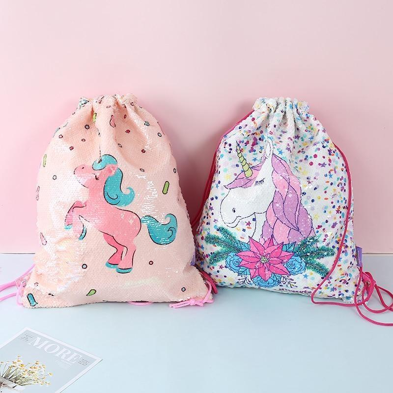 Sequin Mermaid Bags - storage