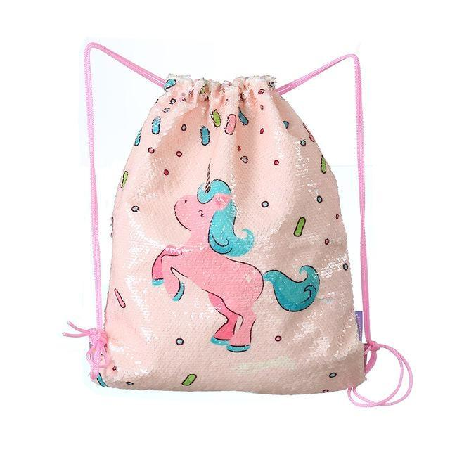 Sequin Mermaid Bags - Pink Prancing Pony - storage