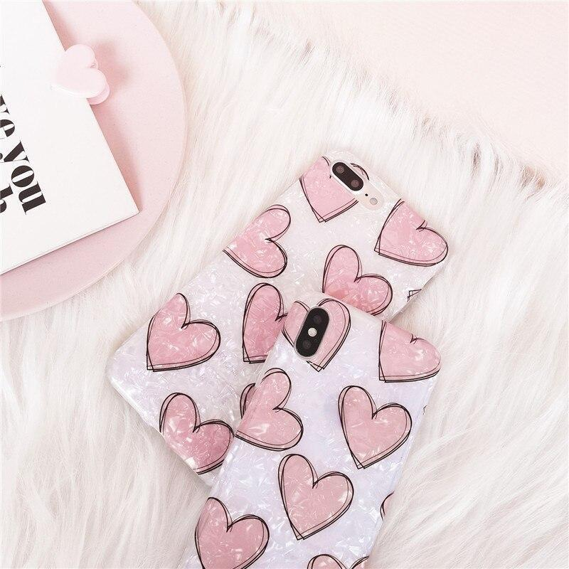 Shimmering Heart iPhone Case