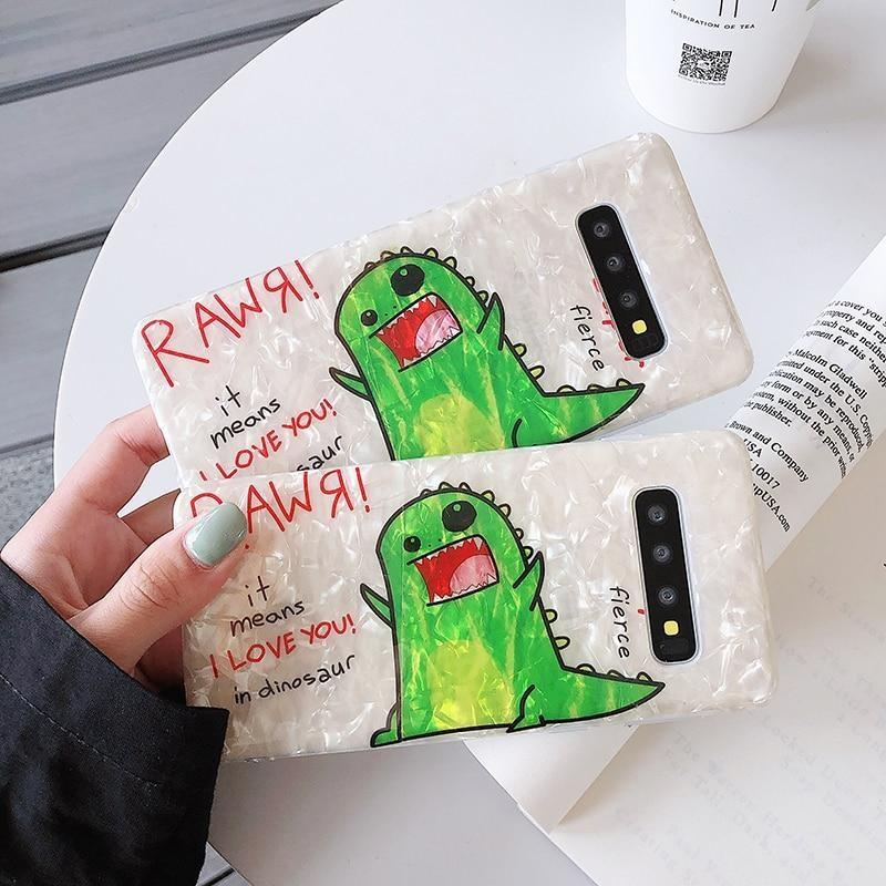 Shimmering Rawr Samsung Case - For Samsung S8 - phone case