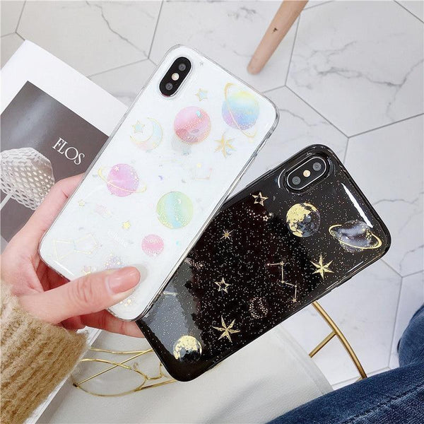 Shimmering Space iPhone Case - phone case